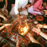 Yagya Fire Ceremony