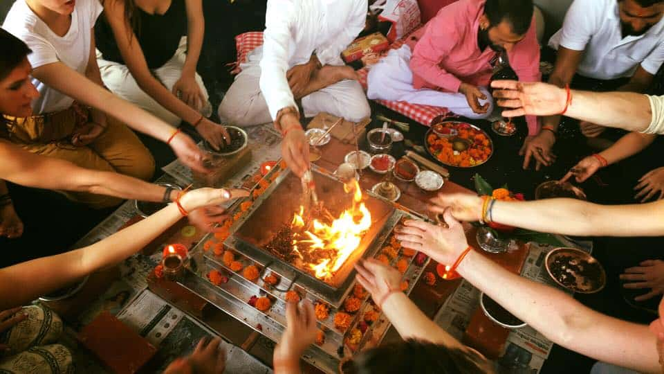 Yagya Fire Ceremony