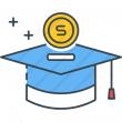 Scholarship Icon.