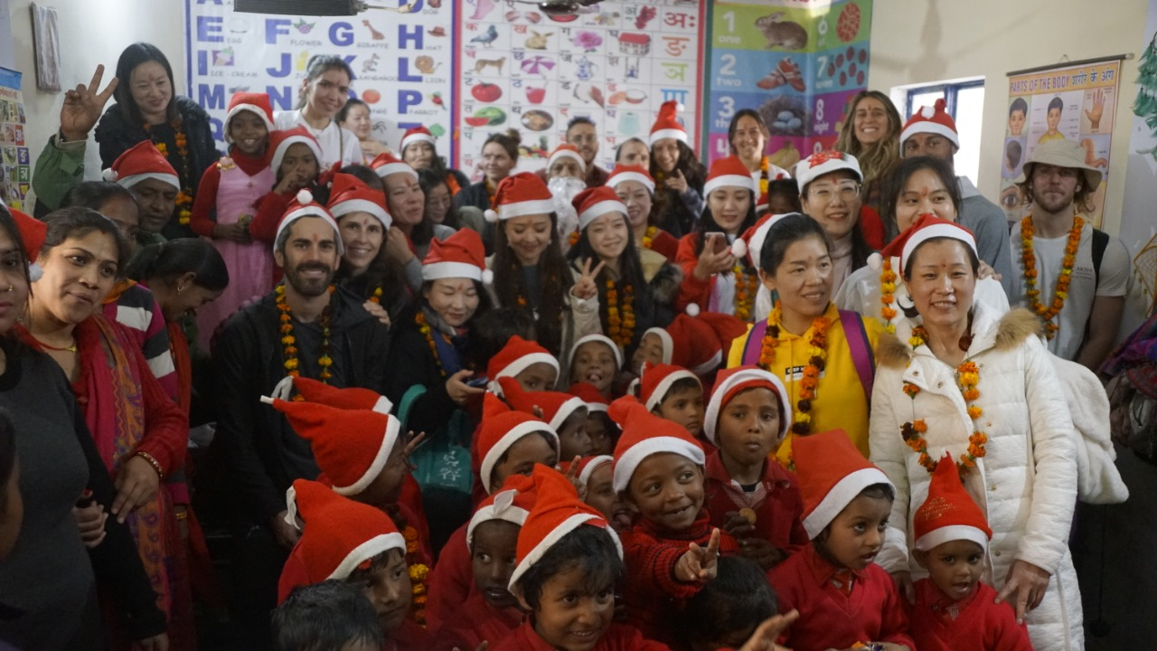 christmas celebration in akshi yogashala 2