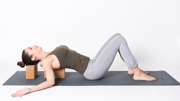 Supported Back Bends: